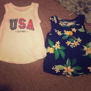 Other - Old navy tank top bundle